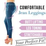 Comfortable Jean Leggings