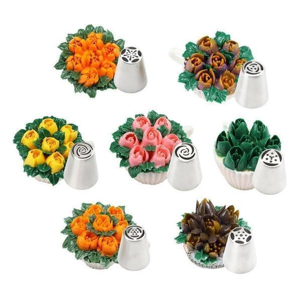 Flower Nozzle - Decorating Kit