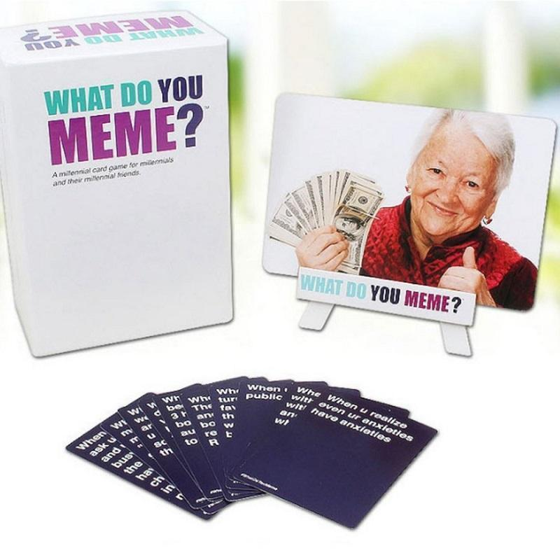 WHAT DO YOU MEME Card Game
