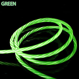 Glowing LED Charging Cable