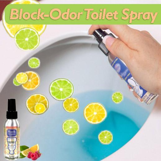 Block-Odor Toilet Spray