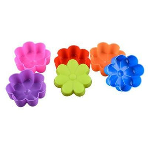 Cute Cupcake Mold (Set of 6)