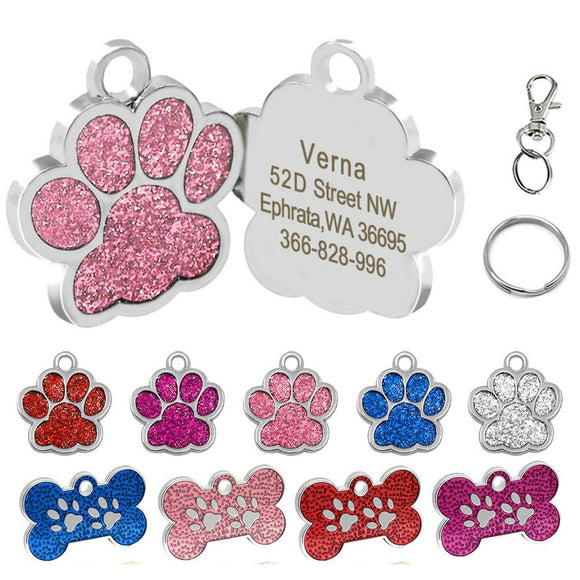 Personalized Pet ID Collar Tag