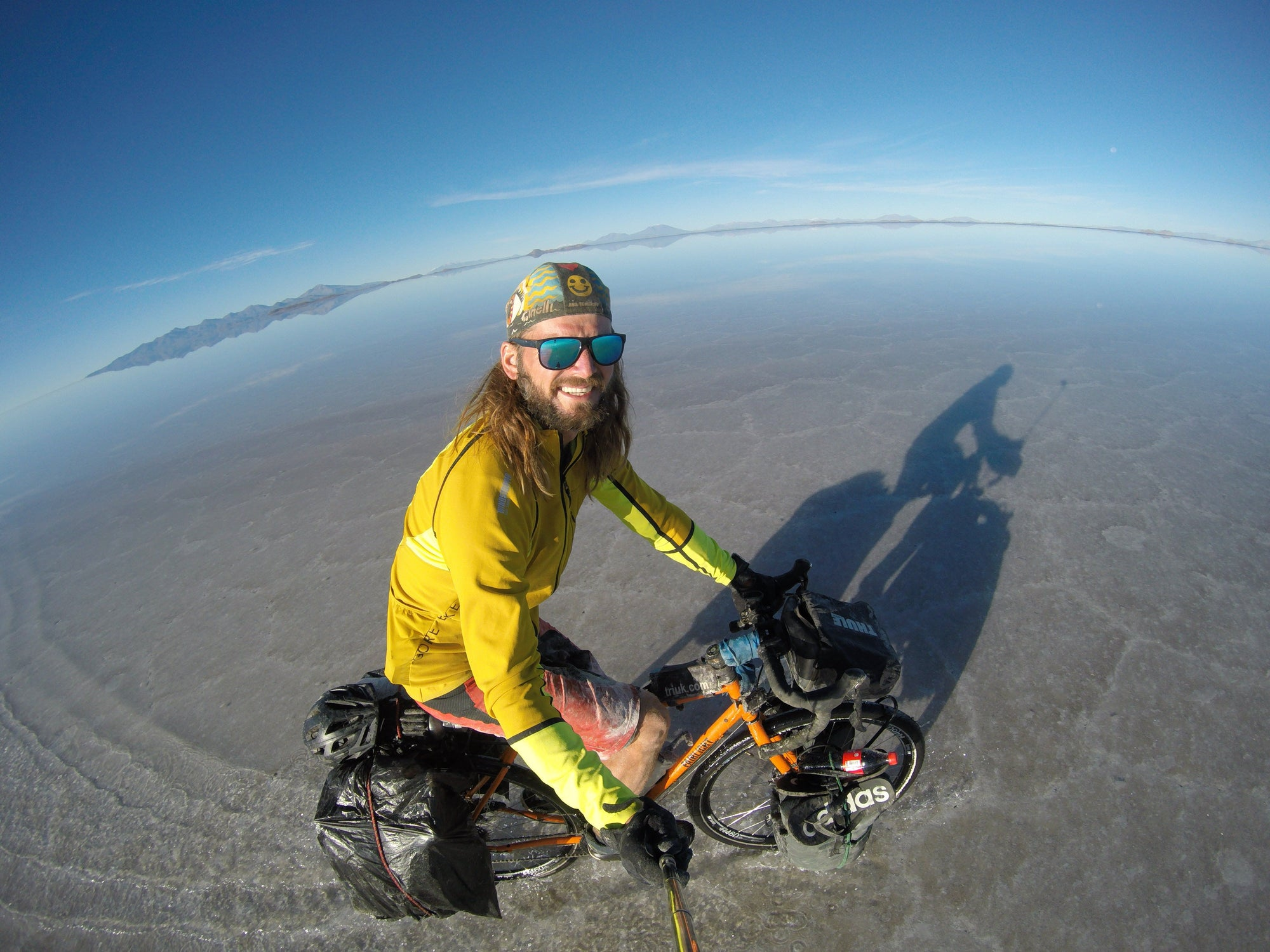 Cycling Atlantic to Andes