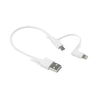 MICRO USB & LIGHTNING CABLE
