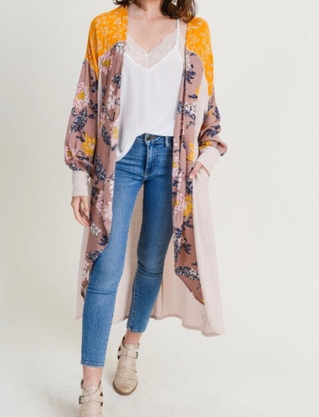 Fall Statement Maxi Duster