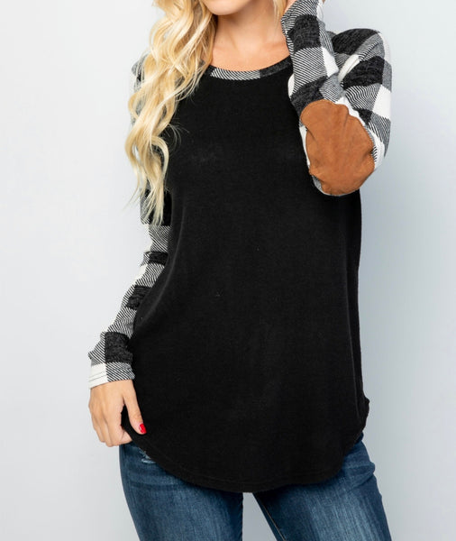 Cozy & Soft Black Checkered Shirt