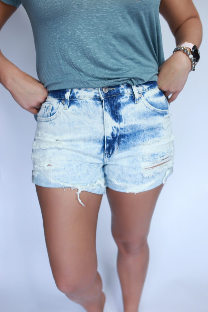Tye Dyed Shorts