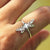 925 sterling silver Dragonfly ring,Insect jewelry Animal Ring enjoy life creative