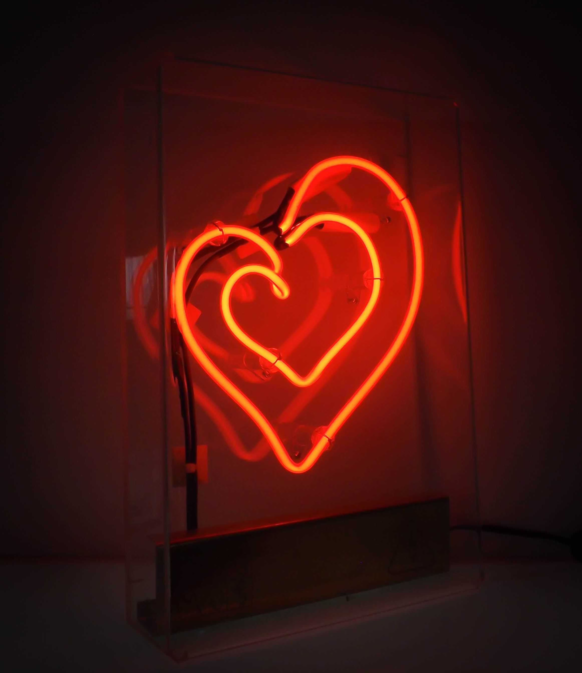 MUCH LOVE - Lampada al neon