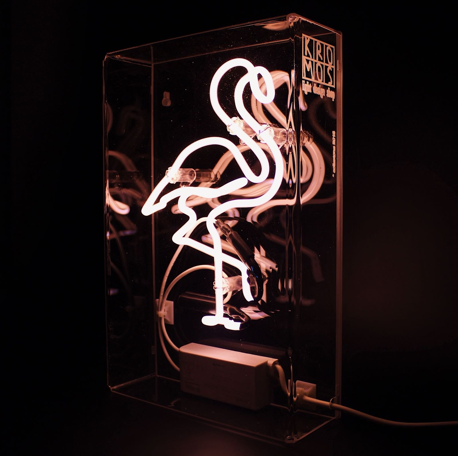 flamingo neon light lamp