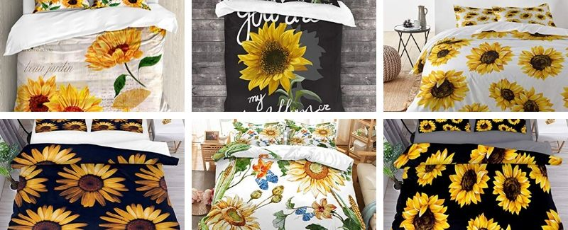 sunflower bedding sets
