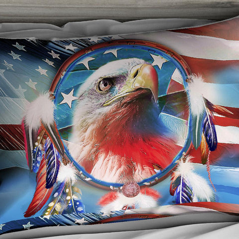 Image of Dreamcatcher Eagle Bedding Set - Beddingify
