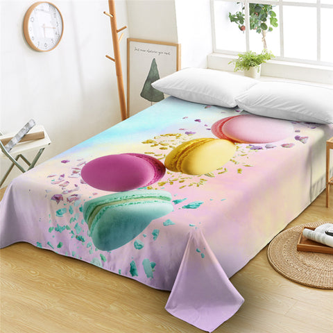 3D Biscuits Flat Sheet - Beddingify