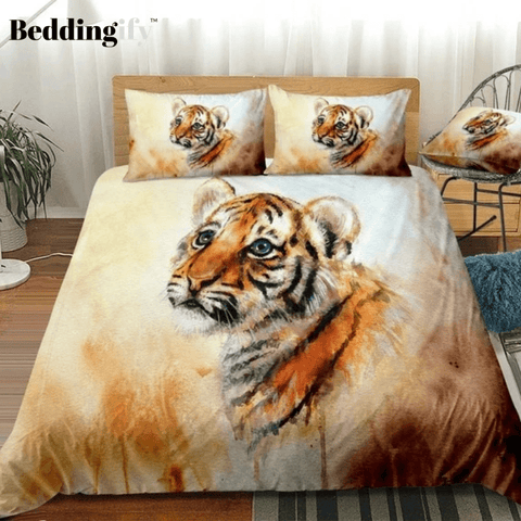 Image of Baby Tiger Comforter Set - Beddingify
