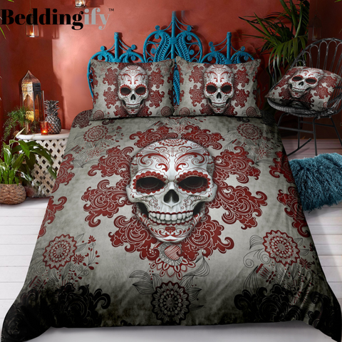 E2 Skull Bedding Set - Beddingify