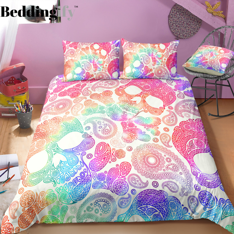 N1 Skull Bedding Set - Beddingify