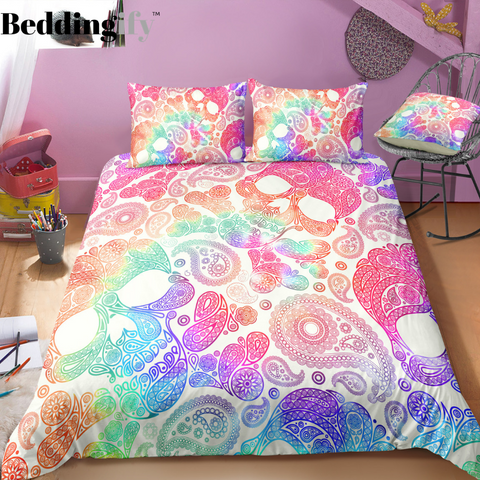 Image of N1 Skull Bedding Set - Beddingify