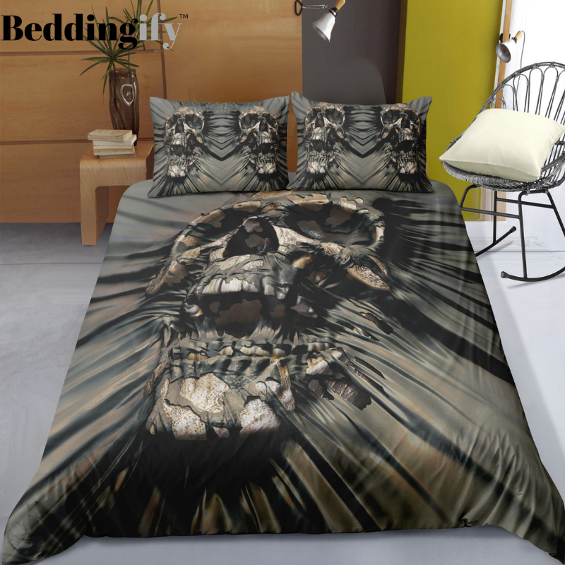E5 Skull Bedding Set - Beddingify