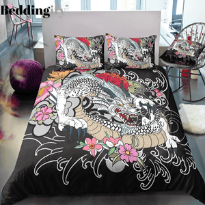 Traditional Dragon Bedding Set