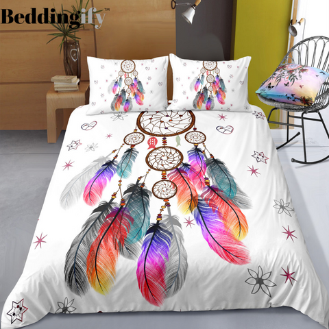 Image of Freedom Dreamcatcher Bedding Set - Beddingify
