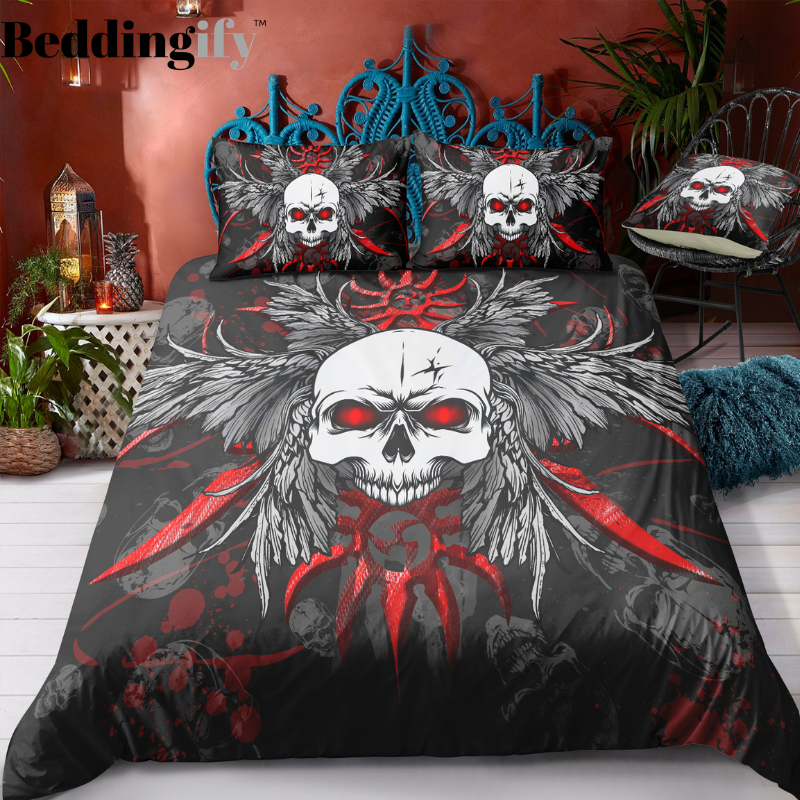 N2 Skull Bedding Set - Beddingify