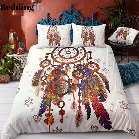 Boho Dreamcatcher Bedding Set - Beddingify
