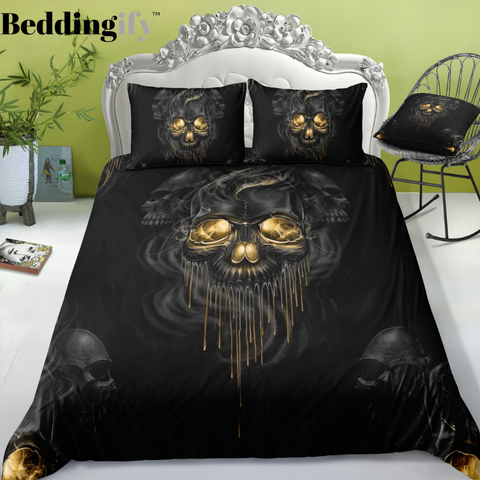F5 Skull Bedding Set - Beddingify