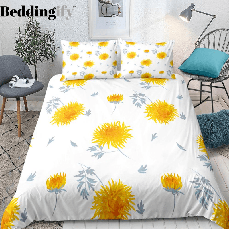 Boho Sunflower Bedding Set - Beddingify