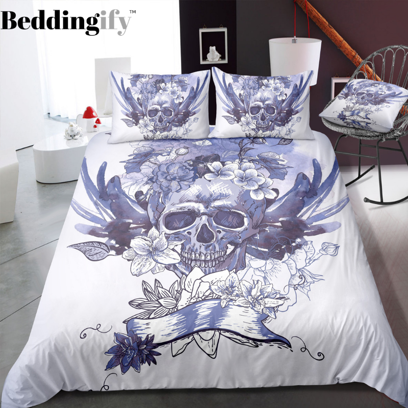 G4 Skull Bedding Set - Beddingify