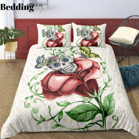 Image of G6 Skull Bedding Set - Beddingify
