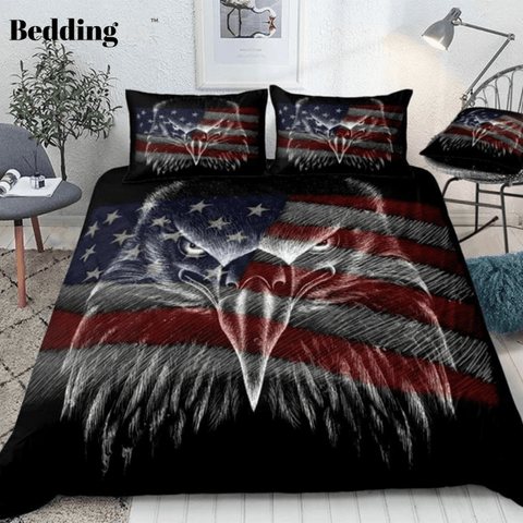 3D Eagle Bedding Set - Beddingify