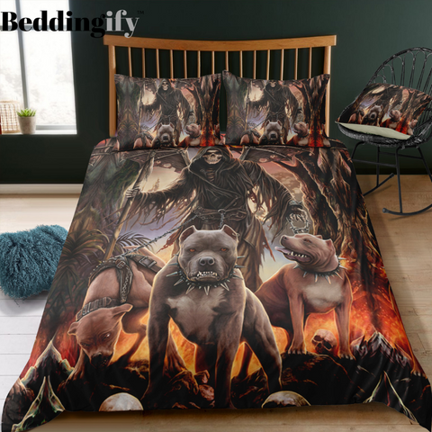 G9 Skull Bedding Set - Beddingify