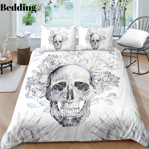 H2 Skull Bedding Set - Beddingify