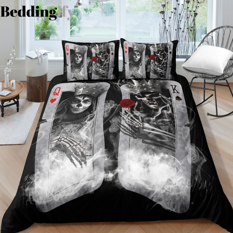 H1 Skull Bedding Set - Beddingify