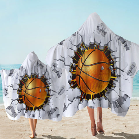 Image of Wrecker Basketball Hooded Towel
