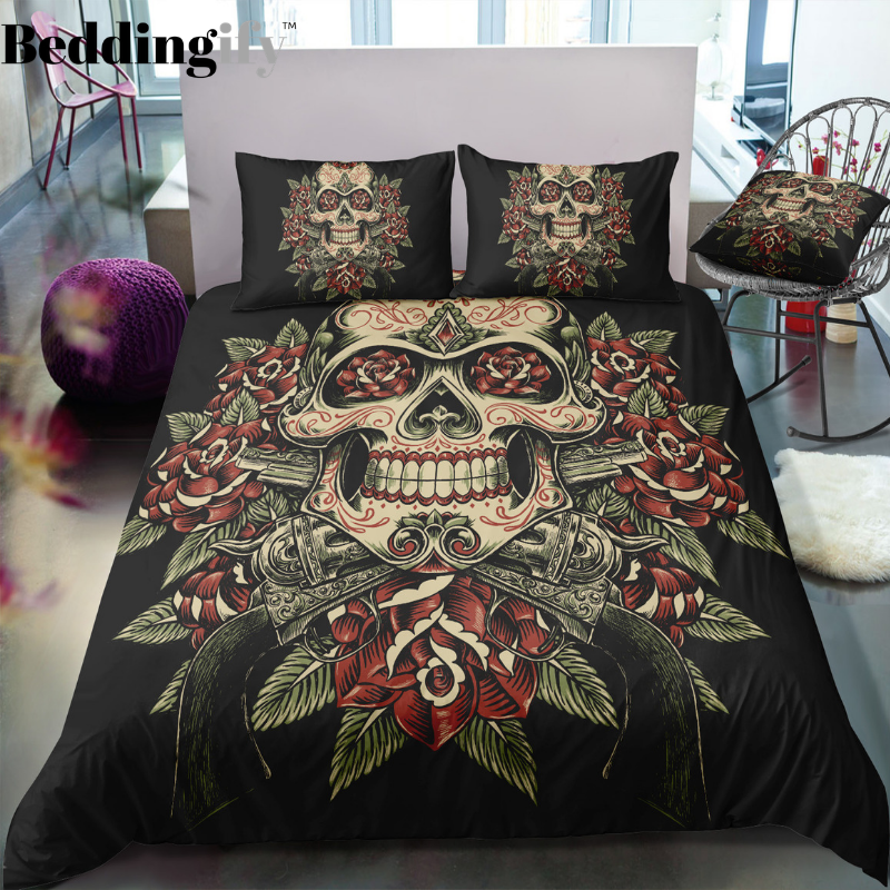 A5 Skull Bedding Set - Beddingify