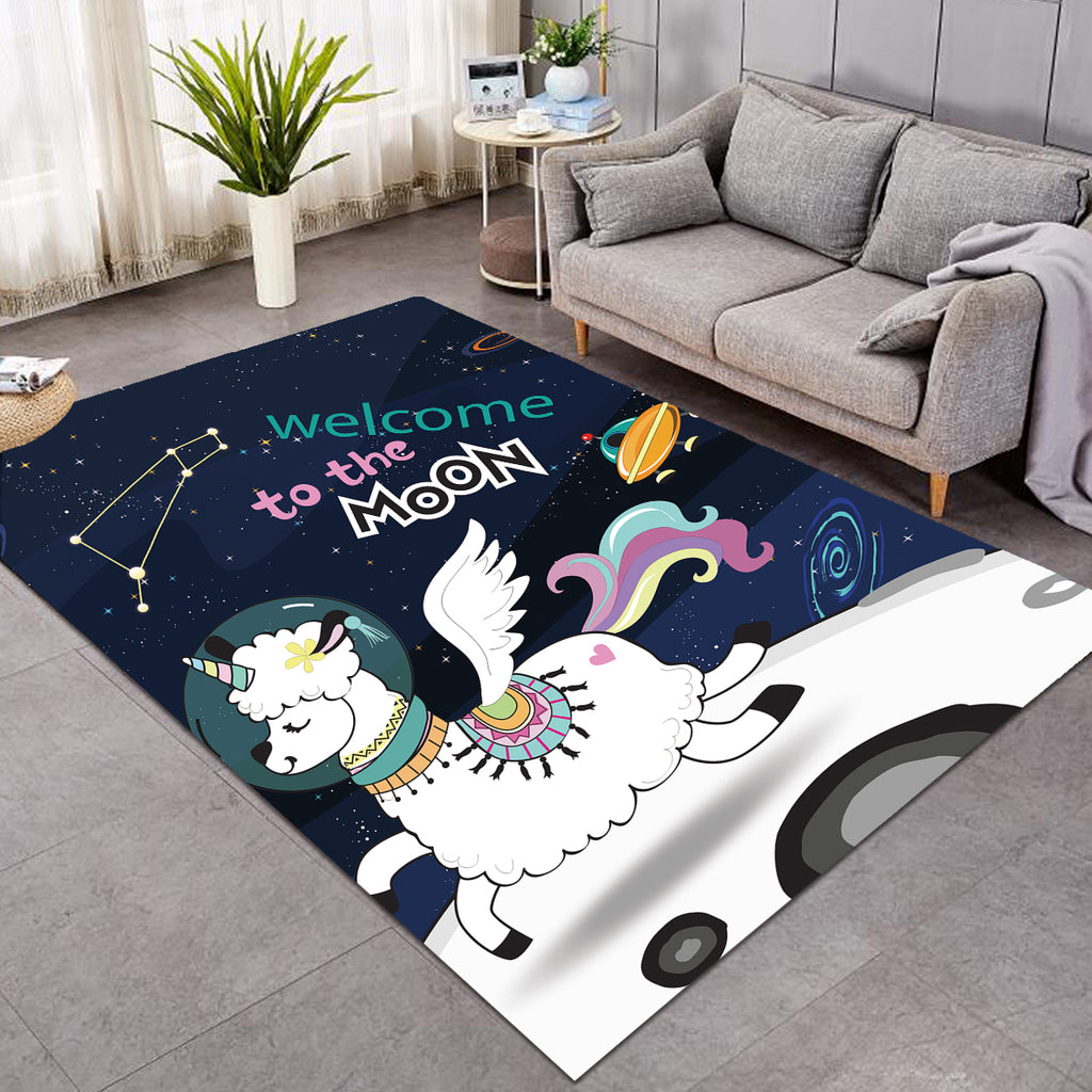 Magical Moon Sheep Rug