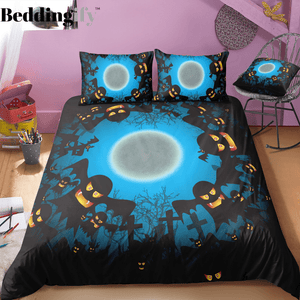 Scarry Halloween Bedding Set