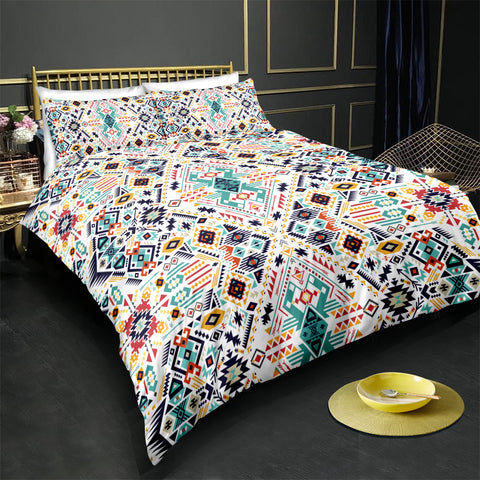 Image of Indian inspired - Chippewa Aztec Bedding Set - Beddingify