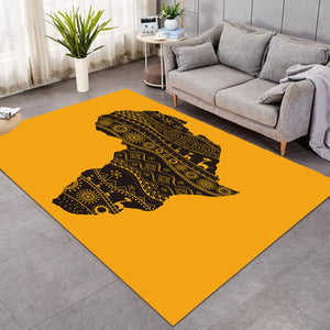 Africa Continent Mango SW0831 Rug