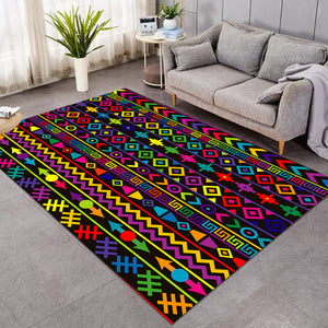Solid Color Line Decoration SW1673 Rug