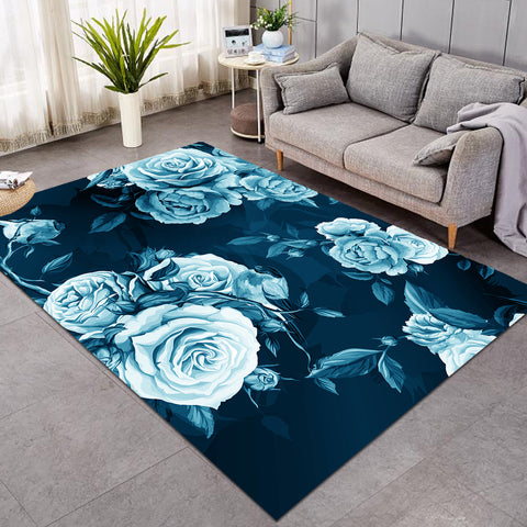 Image of Icy Roses SW0503 Rug