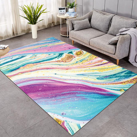 Image of Glittered Fairy Stream SW0006 Rug