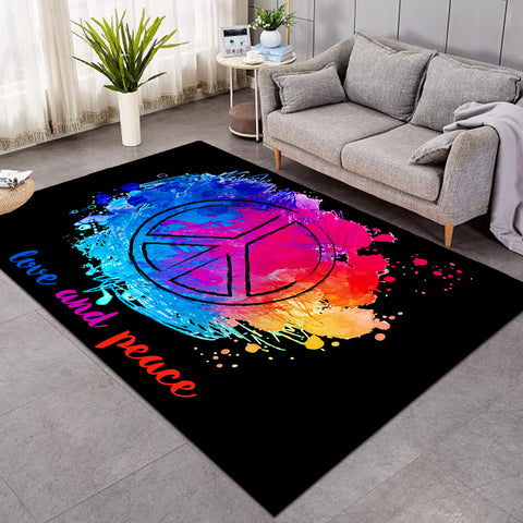 Love & Peace Colors SW1636 Rug