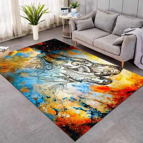 Image of Holy Wolf Awaken SW1670 Rug