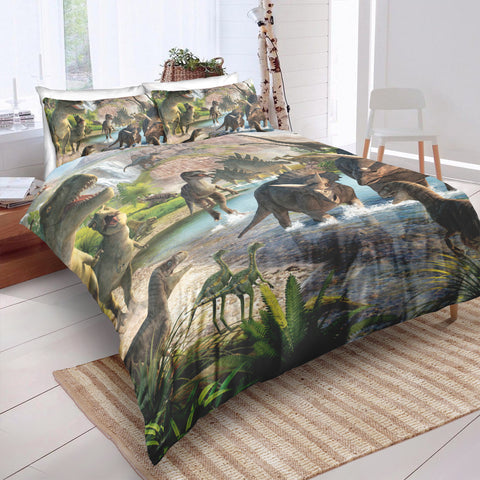 Image of The World of Dinosaur Bedding Set - Beddingify