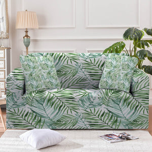 Tropical Palm Leaves Sofa Cover - Beddingify