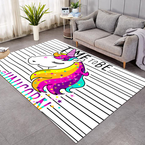 Image of Unicorn Time SW0505 Rug