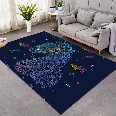 Image of Comet Unicorn SW0298 Rug